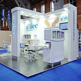 A-dec Tradeshow booth 3